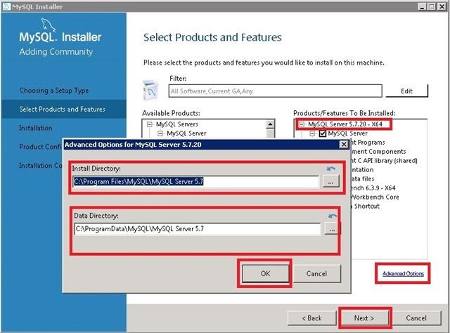 Windows Server 安装 MySQL,更改 MySQL Server 安装路径