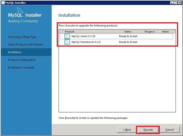 Windows Server 安装 MySQL,Ready to install 准备安装