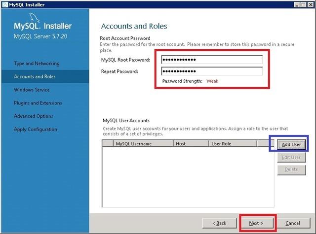 Windows Server 安装 MySQL,设置 Root 用户密码