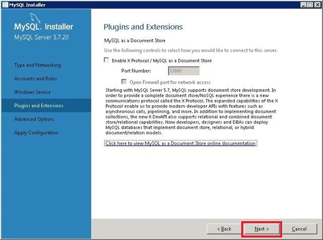 Windows Server 安装 MySQL,插件和扩展 Plugins and Extensions