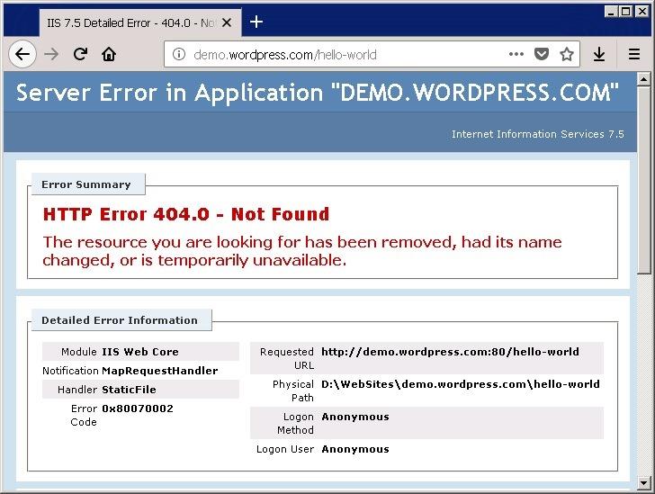 Wordpress 固定链接设置 404 错误